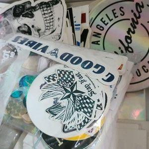 50 brandy melville stickers random bundle